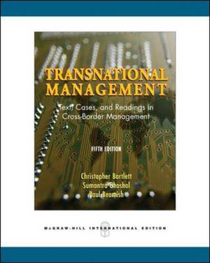 Cover of Transnational Management