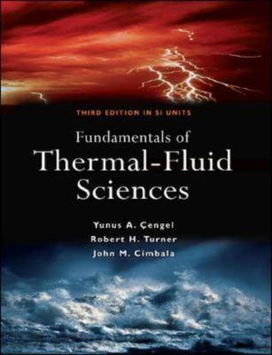 Cover of Fundamentals of Thermal-Fluid Science 3e (SI units)