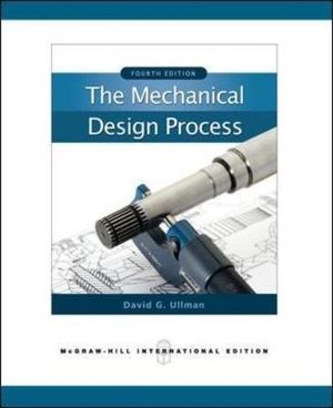 Cover of The Mechanical Design Process