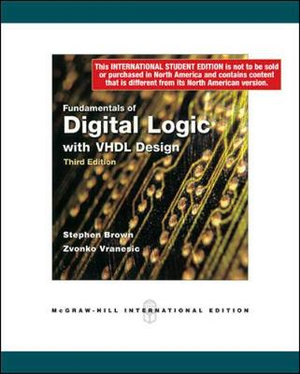 Cover of Fundamentals of Digital Logic with VHDL Design
