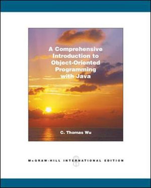 Cover of A Comprehensive Introduction to Object-oriented Programming with Java