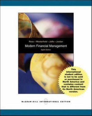 Cover of Modern Financial Management