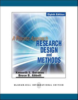 Cover of Research Design and Methods