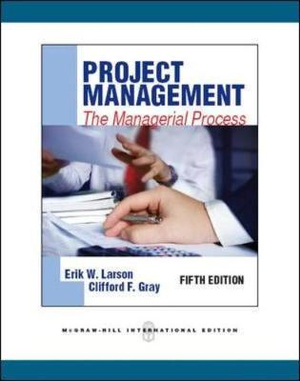 Cover of Project Management: The Managerial Process