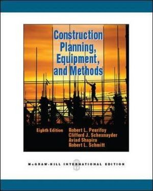 Cover of Construction Planning, Equipment, and Methods