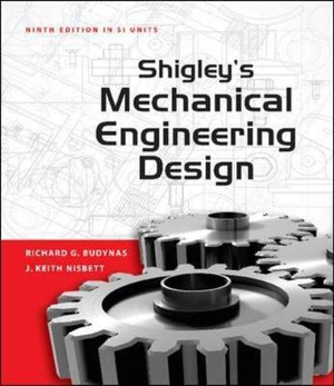 Cover of Shigley's Mechanical Engineering Design, SI Version