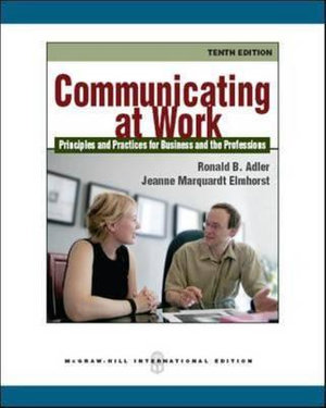 Cover of Communicating at Work?