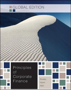 Cover of Principles of Corporate Finance