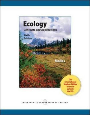Cover of Ecology: Concepts and Applications