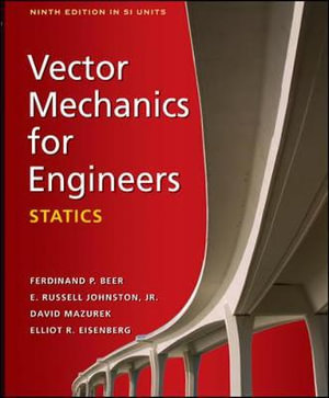 Cover of Vector Mechanics for Engineers: Statics (SI units)