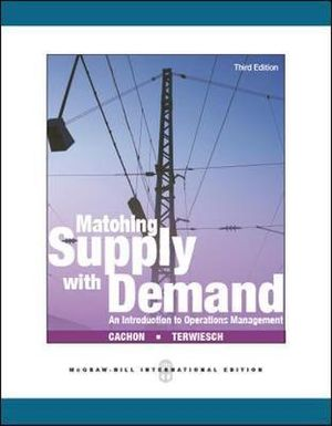 Cover of Matching Supply with Demand