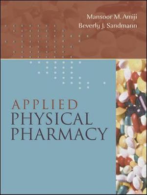 Cover of Applied Physical Pharmacy