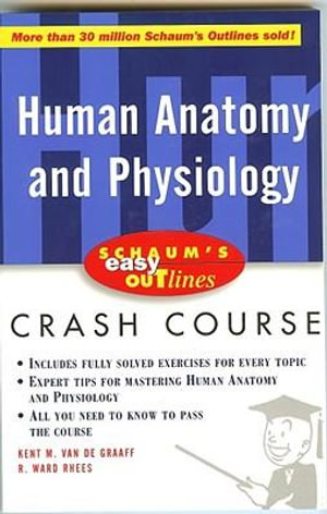 Cover of Schaum's Easy Outline of Human Anatomy and Physiology