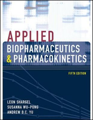 Cover of Applied Biopharmaceutics & Pharmacokinetics, Fifth Edition