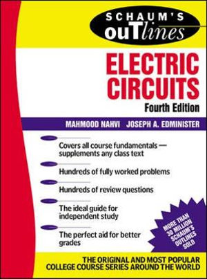 Cover of Schaum's Outline of Electric Circuts