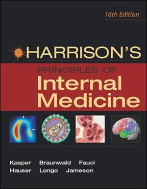 Cover of Harrison's Principles of Internal Medicine