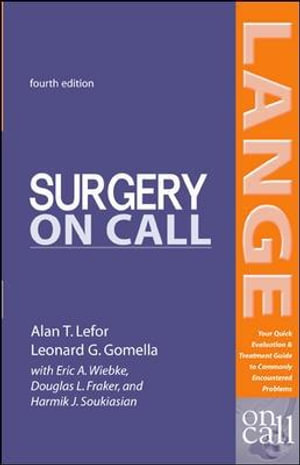 Cover of Surgery On Call, Fourth Edition