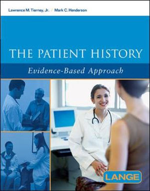 Cover of The Patient History: Evidence-Based Approach