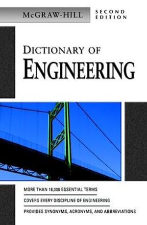 Cover of Dictionary of Engineering