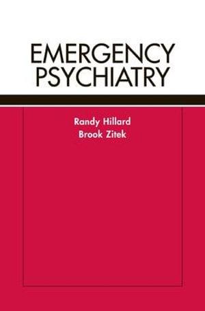 Cover of Emergency Psychiatry