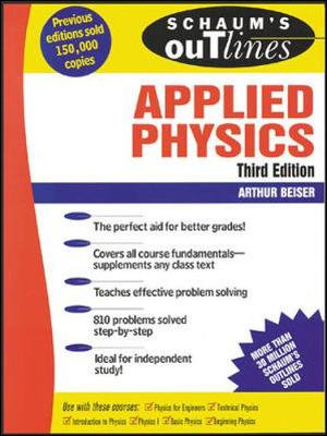 Cover of Schaum's Outline of Theory and Problems of Applied Physics