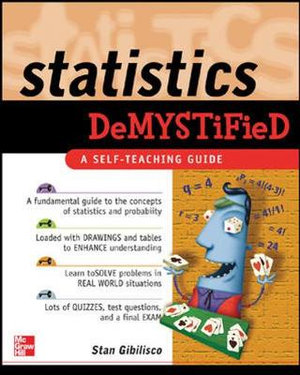 Cover of Statistics Demystified