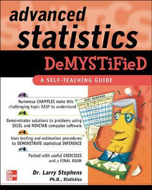 Cover of Advanced Statistics Demystified