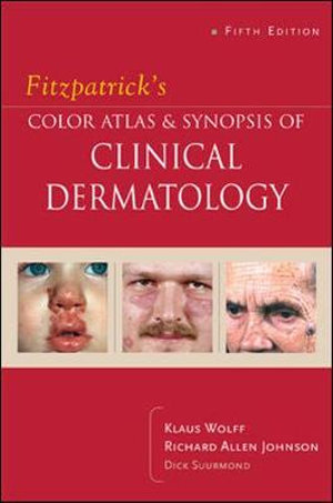 Cover of Fitzpatrick's color atlas and synopsis of clinical dermatology