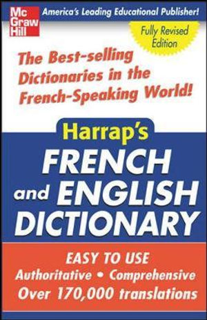 Cover of Harrap's French and English Dictionary