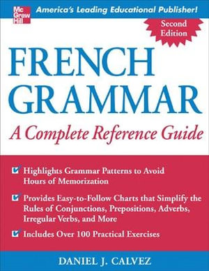 Cover of French Grammar: A Complete Reference Guide