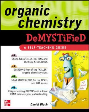 Cover of Organic Chemistry Demystified