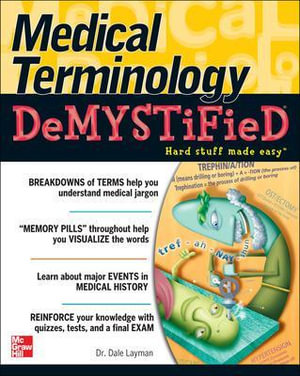 Cover of Medical Terminology Demystified