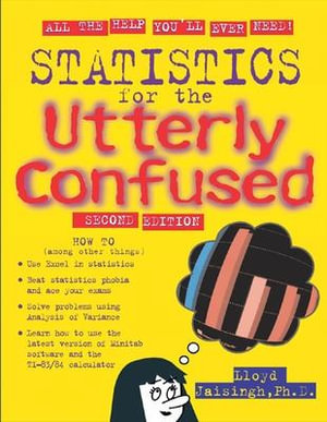 Cover of Statistics for the Utterly Confused, 2nd edition