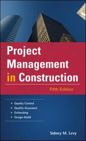 Cover of Project Management in Construction