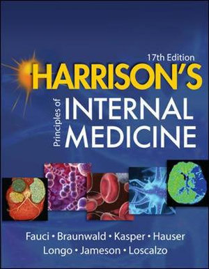 Cover of Harrison's Principles of Internal Medicine