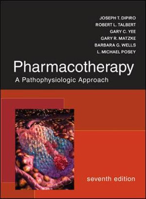 Cover of Pharmacotherapy: A Pathophysiologic Approach