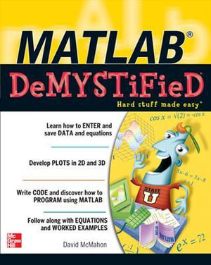 Cover of MATLAB Demystified