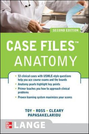 Cover of Case Files Anatomy, Second Edition