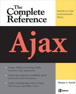 Cover of Ajax: The Complete Reference