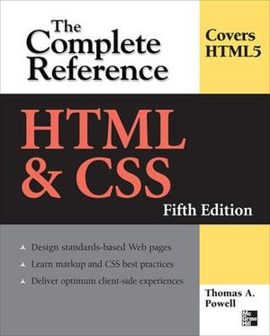 Cover of HTML & CSS: The Complete Reference, Fifth Edition
