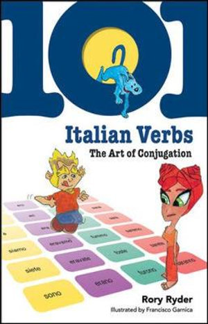 Cover of 101 Italian Verbs