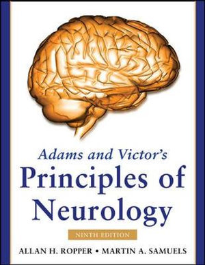Cover of Adams and Victor's Principles of Neurology, Ninth Edition