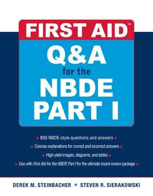 Cover of First Aid Q&A for the NBDE