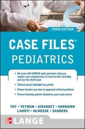 Cover of Case Files Pediatrics, Third Edition