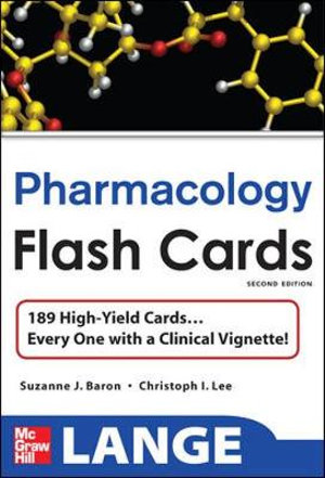 Cover of Lange Pharmacology Flash Cards