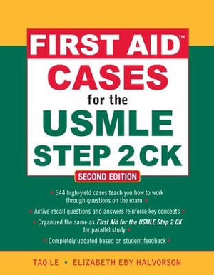 Cover of First Aid Cases for the USMLE Step 2 CK, Second Edition