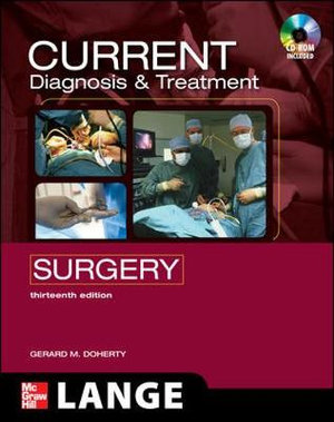 Cover of CURRENT Diagnosis and Treatment Surgery: Thirteenth Edition