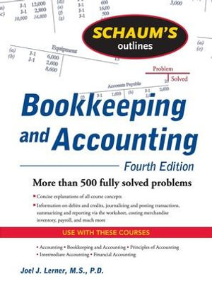 Cover of Schaum's Outline of Bookkeeping and Accounting, Fourth Edition