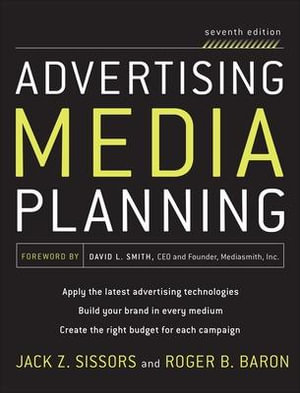 Cover of Advertising Media Planning, Seventh Edition