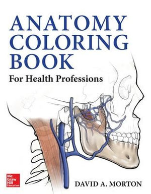Cover of Anatomy Coloring Book for Health Professions